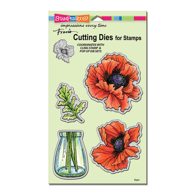 Pretty Poppies/Dies
