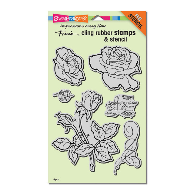 Rose Garden Stamp/Cling