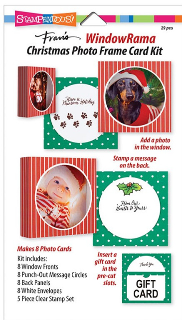 WindowRama Christmas Card Kit