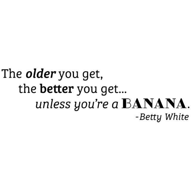 Betty White/Cling