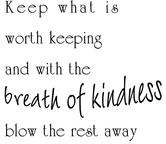 Breath Of Kindness/Cling
