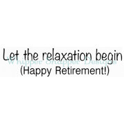 Relaxation Begins/Cling