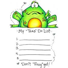 """Toad Do"" List"