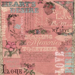 12x12 Hearts Desire Collage