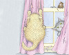 Curtain Cats/Cling